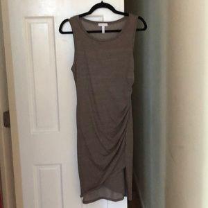 NWOT leith dress medium - taupe